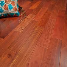 Unfinished Solid Hardwood Flooring Discount 5 X 3 4 Santos Mahogany Clear Grade Unfinished Solid