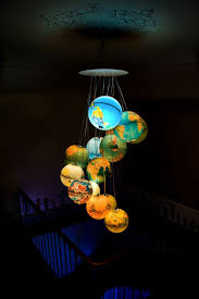 Diy Ball Chandelier 21 Diy Lamps And Chandeliers Made Of Everyday Objects