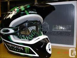 monster motocross helmets one industries monster motocross helmet as new size large