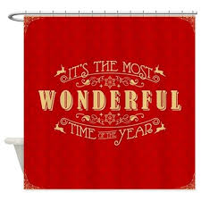 Christmas Shower Curtains Cafepress