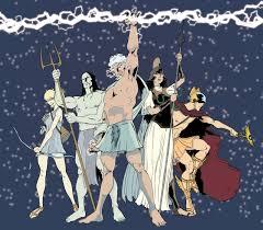 gods of olympus team comic vine