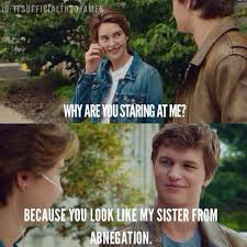The Fault In Our Stars Meme - the fault in our stars divergent literary memes pinterest