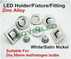 Mr16 Lighting Fixtures White Led Ceiling Gu10 Mr16 Halogen Bulbs Holder Square