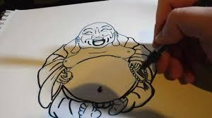 drawing buddha youtube