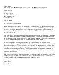 beginning paralegal cover letter