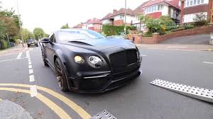 bentley custom custom batman bentley youtube