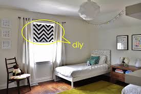 How To Make Window Blinds - diy chevron roller blind u2014 velvet toolbox