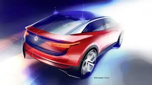 vw i d crozz ii concept imagines more stylish electric cuv