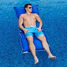 makai swimming pool float at brookstone u2014buy now
