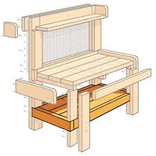 Redwood Potting Bench Best 25 Potting Bench Plans Ideas On Pinterest Garden Bench