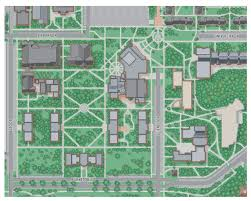 Cleveland State University Map 23 Best 3d Campus Conceptual And City Map Illustration Images On
