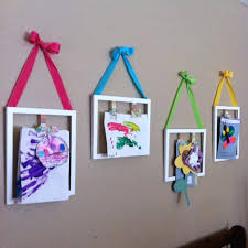 hanging kids artwork hanging kids artwork clipboards for kids art ways to display home