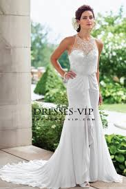 cheap bridal dresses 2017 chiffon wedding dresses halter beaded bodice a line us