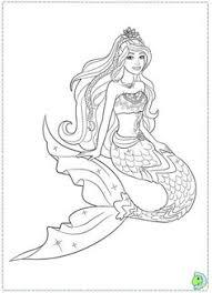 barbie coloring pages print mermaid barbie coloring pages pinterest mermaid barbie