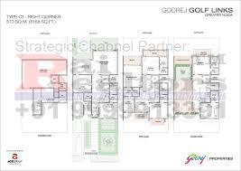 site plan floor plans godrej properties golf links 9999913391