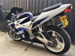 used blue suzuki gsx r750 for sale middlesex