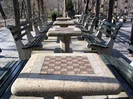 tables in central park chess tables checkers house central park kap h arnaüm