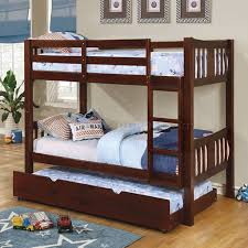 Bunk Bed Options Cameron Cm Bk929ex Bunk Bed In Walnut W Options