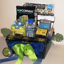 california gift baskets welcome to los angeles