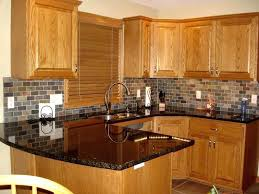 oak cabinets kitchen ideas honey oak kitchen cabinets wall color faced