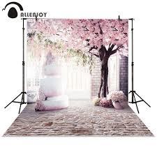 wedding backdrop tree aliexpress buy allenjoy photography backdrop pink cherry