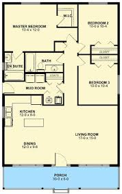 Bungalow House Plans On Pinterest by 66 Best House Plans Under 1300 Sq Ft Images On Pinterest