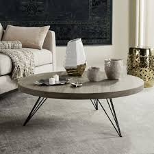 cheap round coffee table round coffee console sofa end tables for less overstock com