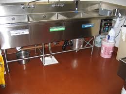 chic commercial kitchen flooring restaurants commercial kitchen