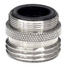 kitchen faucet to garden hose adapter amazing kitchen faucet adapter 45 for home design ideas with