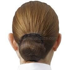 hair nets for buns black hair bun net for cadet and regular forces 1 50