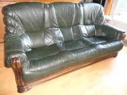 canapé et fauteuil en cuir canape fauteuil cuir fleur offres juin clasf