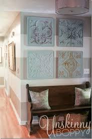 House Wall Decor Best 25 Unique Wall Decor Ideas On Pinterest Floral Living