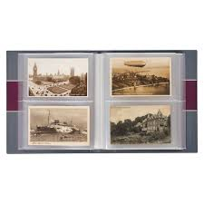 photo album sheets album for 200 historical postcards with 50 bound clear pocket