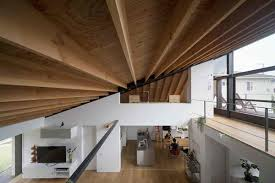 Hip Roof House Designs A Modern Hipped Roof House In Japan Home Design Lover