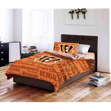 Cincinnati Bengals Halloween Costume Nfl Cincinnati Bengals Bed Bag Complete Bedding Walmart