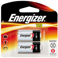 Home 123 by Energizer 123 2pk Lithium Battery El123apb2 The Home Depot