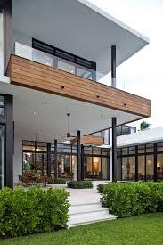 terrace outdoor dining modern home in golden beach florida