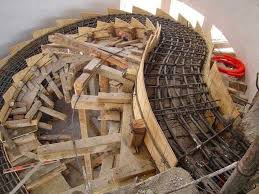 various type of formwork for curved concrete stairs 1 4