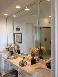 Mirror Trim For Bathroom Mirrors by Furniture Beveled Bathroom Mirrors Frameless Beveled Mirror