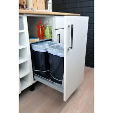 rangement coulissant cuisine ikea tiroir poubelle cuisine rangement coulissant pour 2 poubelles
