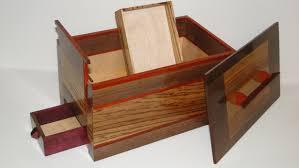 Free Wood Plans Jewelry Box by Items Similar To Walnut Zebrawood Padauk And Purpleheart Secret