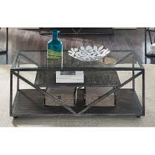 Metal Glass Coffee Table Coffee Table U0026 Coffee Tables Rc Willey Furniture Store