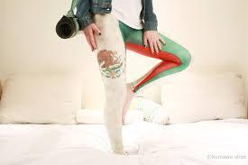 mexico leggings mexico flag leggings mexican party fan