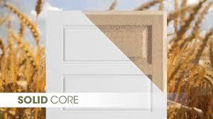 Hollow Interior Door Solid Core Vs Hollow Core Doors Youtube