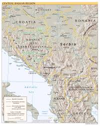 Large Scale Map Maps Of Balkans Detailed Political Relief Road And Other Maps