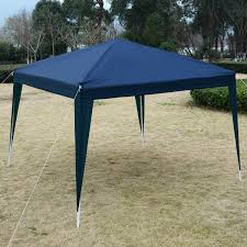 Patio Tent Gazebo by Gopuls 10 U0027 X 10 U0027 Wedding Party Shelter Canopy With Carry Bag