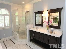 Bathroom Cabinets Raleigh Nc by Traditional Master Bathroom With Frameless Showerdoor U0026 Master