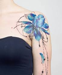 the 25 best flower shoulder tattoos ideas on pinterest shoulder