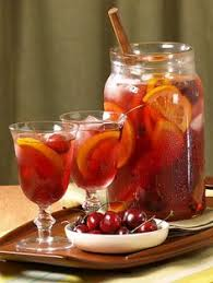 Best White Wine For Thanksgiving Weekend Cocktails Cranberry Pomegranate Winter Sangria See