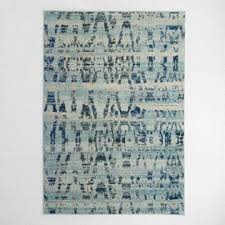 Gray And Blue Area Rug Area Rugs Affordable Large Rugs World Market